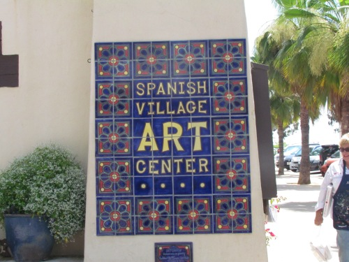 I fell in love with the Spanish Village Art Center inside Balboa Park